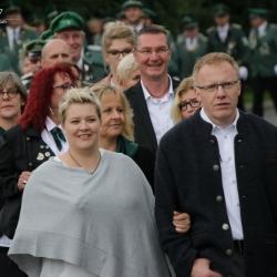 2017-08-20   Bundesschützenfest 2017 - Empfang der Majestäten & Festzug   Heidberg